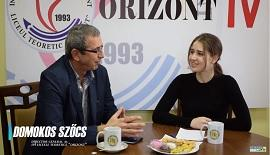 An Interview with Mr.SZÖCS, General Director of Liceul Teoretic Orizont